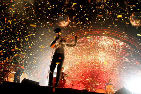 11 september: The Flaming Lips live at Bestival, isla de Wight 11 de septiembre de 2010
