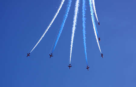 RAF Red Arrows, Bournemouth 2009