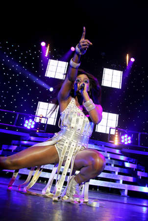 Alexandra Burke live at the Bournemouth International Centre UK 12.02.11