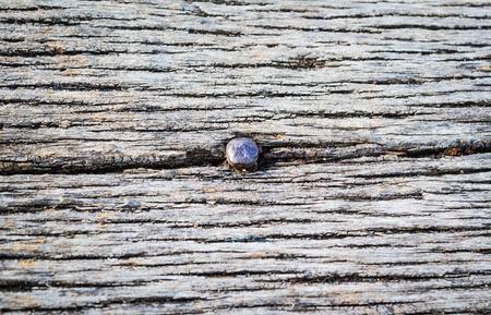 rusty nail: Rusty Nail in old Wood