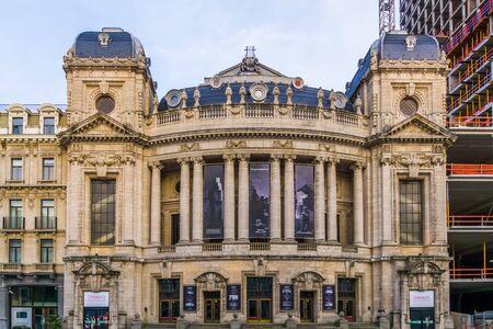 The opera and ballet Flanders building in antwerp city, Antwerpen, Belgium, April 23, 2019