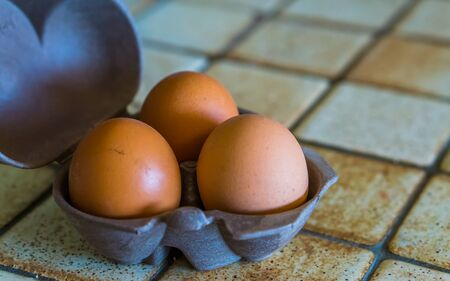 case of three chicken eggs, popular animal food products, healthy source of protein