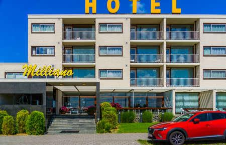 Hotel de Milliano in the dunes of Breskens, luxurious 4 star resort at the beach, Breskens, Zeeland, The Netherlands, 20 July, 2020