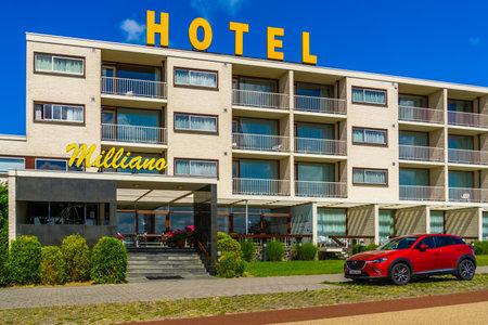 4 star resort Hotel de Milliano in the dunes of Breskens, Zeeland, The Netherlands, 20 July, 2020