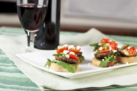 pan y vino: Setas shitake al horno con