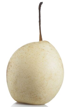 asian pear: Asian Pear on white background with shadow