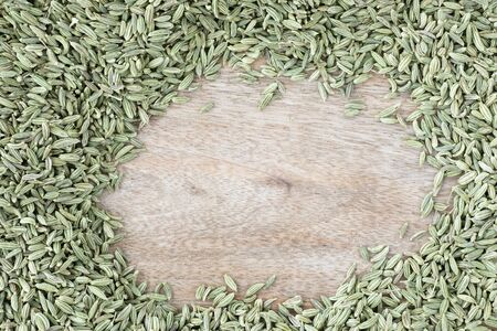 Fennel Seeds with Copy Space Standard-Bild