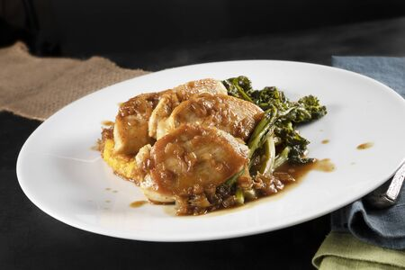 Chicken Breast Dinner Standard-Bild
