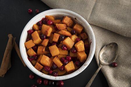 Sweet Butternut Squash Dish Standard-Bild