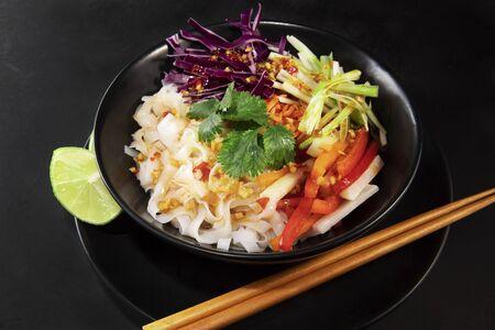 Healthy Spicy Noodle Salad