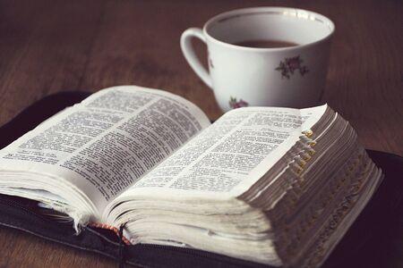 ecru: Bible and Coffee