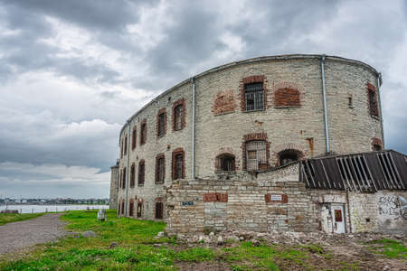 Patarei Fortress Prison is a part of European architectural heritage, is a memorial to the victims, Tallinn, Estonia Zdjęcie Seryjne