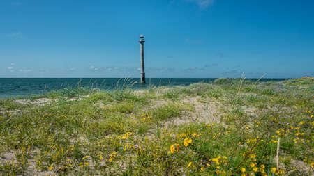 abandoned, architecture, background, baltic, beach, blue, building, coast, coastline, eesti, erosion, estonia, fall down, falling, horizon, island, kiipsaar, kiipsaare, landmark, landscape, leaning, l
