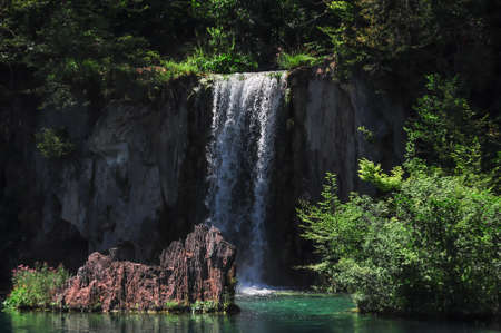 Breathtaking Lakes and Falls at the Plitvicer National Park in Croatia