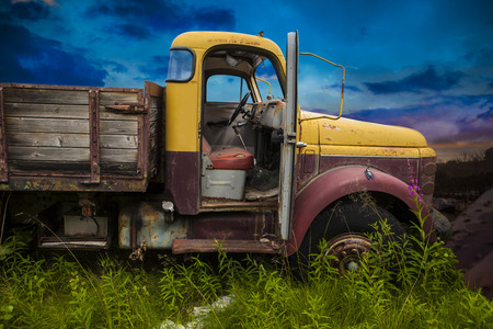 old truck: Old Truck