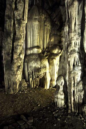 Cave in profonda Archivio Fotografico
