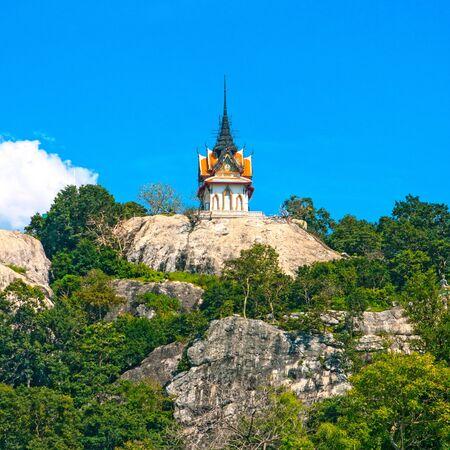 eligion: Temple near sky