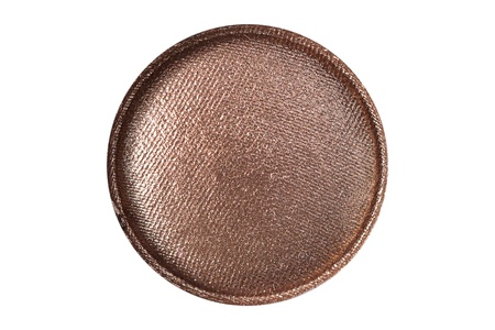 Bronze eye shadow close up photo