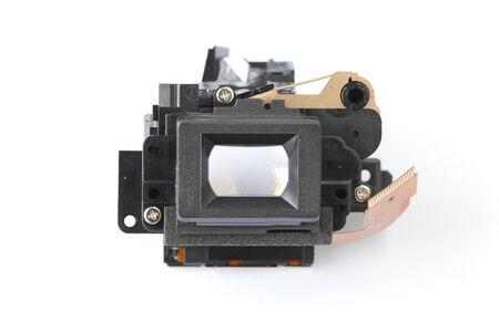 finder: Camera view finder parts  Stock Photo
