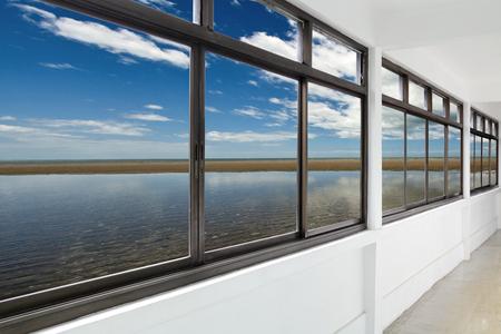 Sea out side windows
