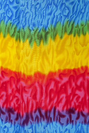 Colorful fabric texture photo