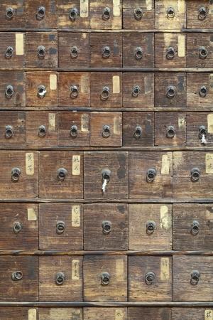 medicina tradicional china: Armario Medicina textura