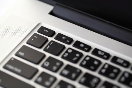 Compute escape key (Selective focus) photo