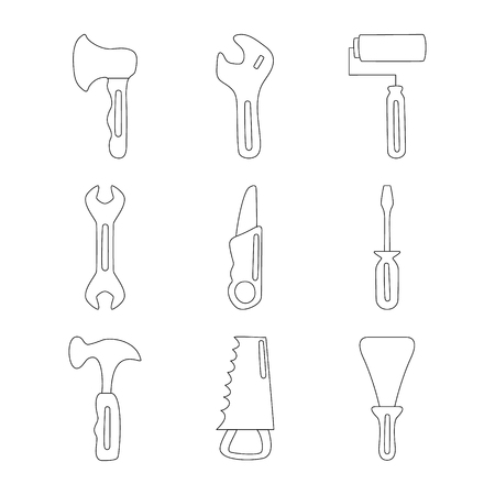 House tools icon Vector