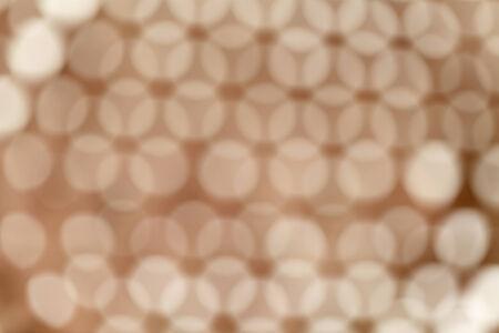 Brown effetto di illuminazione rotonda