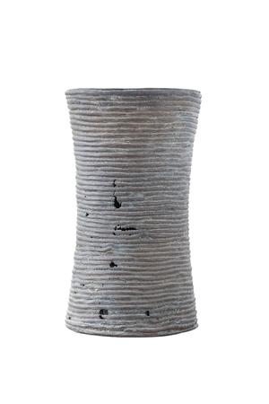 armband: Antico bracciale di bronzo isolato su bianco