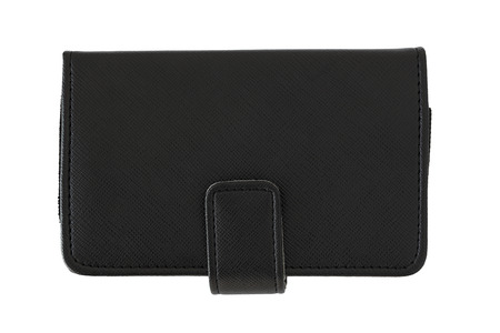 Black pocket leather photo