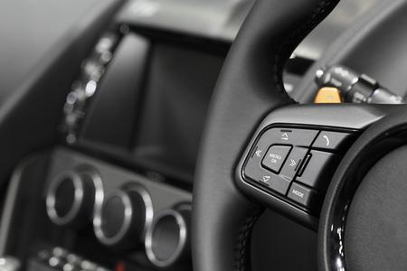 car audio: Car audio control Stock Photo