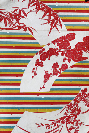 Antique giapponese cartamodello