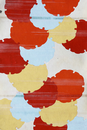 Antique japanese paper pattern