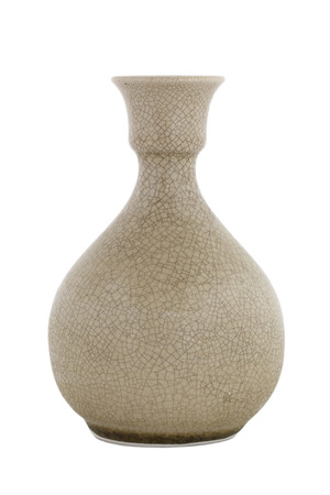 Various Beautiful Ceramic Jug And Vase Collection Isolated On