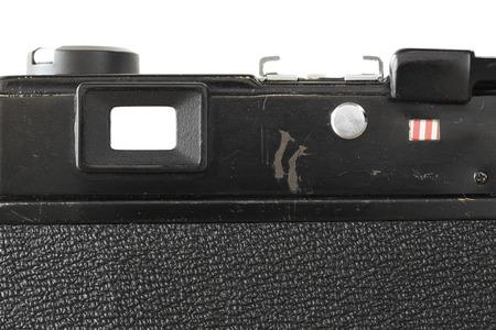 Vintage camera view finder photo