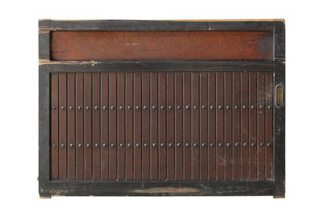 Antica porta di legno Archivio Fotografico