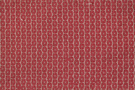 Red fabric texture photo