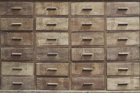 Antique medicine cupboard texture photo