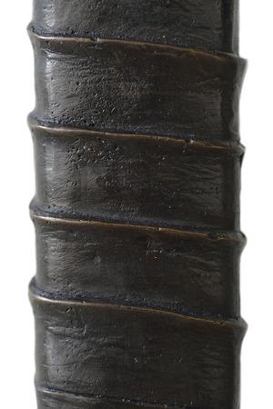 hilt: Hilt samurai sword isolated on white background