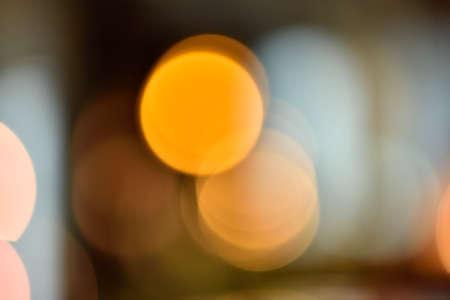 effect: Orange lighting effect