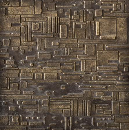 bronze texture: Edge pattern bronze texture