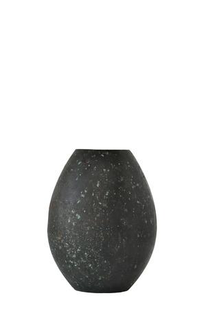 antique vase: Small antique bronze vase Stock Photo