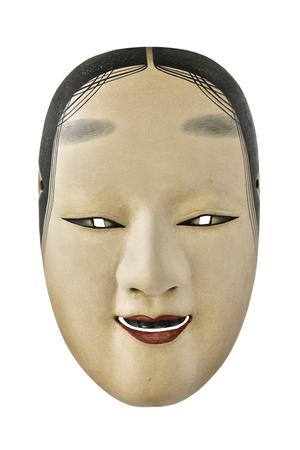noh: Antique japanese mask