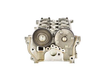 cam gear: Engine camshaft cap