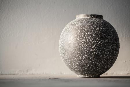 bronze bowl: Antique bronze bowl with vignette