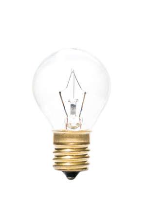transparent globe: Transparent globe bulb Stock Photo