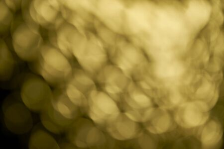effect: Gold lighting effect background Stock Photo