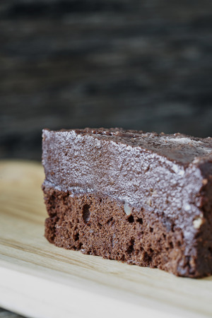 Truffles chocolate cake
