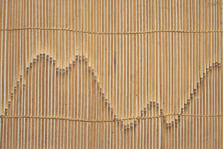 Antique wood screen texture